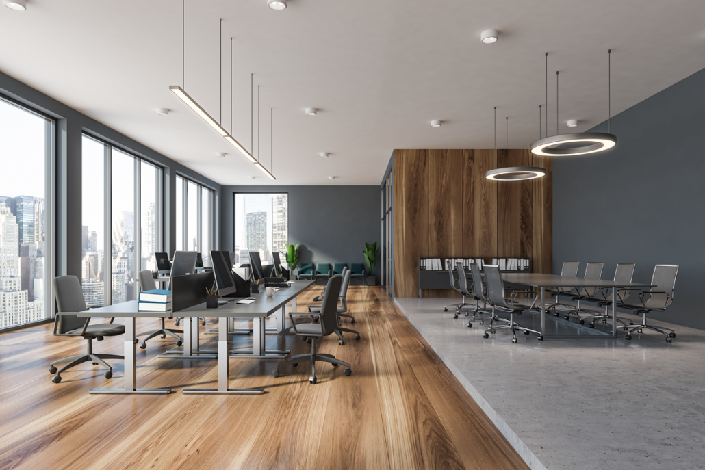 Open Floor Plan for Your New Office